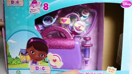 Doc McStuffins Doctors Bag Set Disney Junior Doc McStuffins Playset Doctora Juguetes ドックはおもちゃドクター