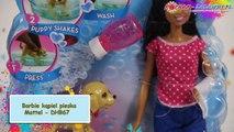 Barbie Splish Splash Pup Playset - African-American / Barbie Kąpiel Pieska - Afro-Amerykanka - DHB67