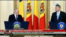 """Nicolae Timofti - """"Suntem uniţi prin sânge, istorie şi spirit. R. Moldova nu are un prieten mai apropiat ca România. Limba Română - limba părinţilor mei, a buneilor mei, a neamului meu şi a oamenilor care trăiesc pe pământul RM. """""""