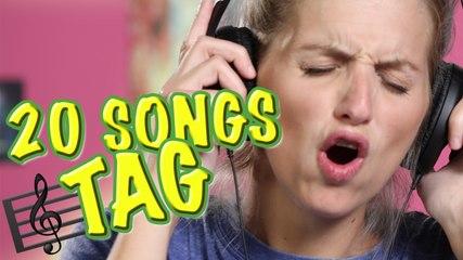 20 Songs Tag   Es Aldana