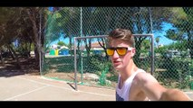 Crossbar Trick Shots Fun! 'A Day Of Football' In Football' In First Person (GoPro Hero 4)   Footballskills First Person (GoPro Hero 4)   F   Footballskills98