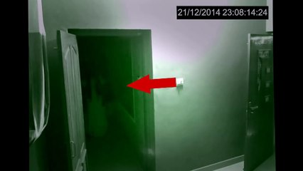 Ghost Caught on CCTV From A Haunted House
