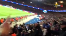 Chelsea fans threatened with pepper spray by French police inside Parc des Princes