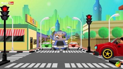 Twinkle Twinkle Traffic - English Nursery Rhymes - Cartoon/Animated Rhymes For Kids