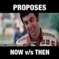Proposes To Women Now Vs Past