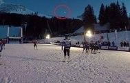 Une météorite aperçue dans le ciel des Alpes