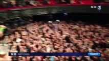 Des larmes et des sourires à l'Olympia lors du concert des Eagles of Death Metal