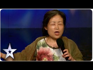 55 Year Old Singer Han Wows Judges  | Asia's Got Talent 2015 Ep 2