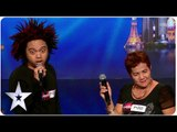 Fe and Rodfil: The Unlikeliest Of Singing Duos | Asia's Got Talent 2015 Ep 2