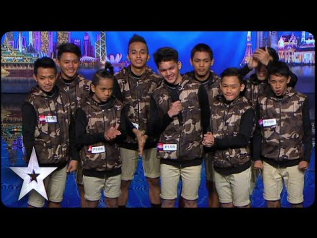 Dance Troupe Junior New System Opens Show With A Bang   Asia's Got Talent 2015 Episode 1