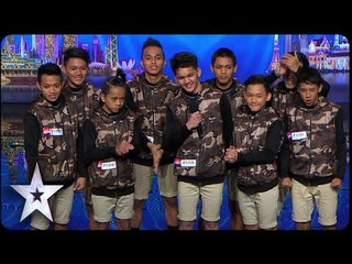 Dance Troupe Junior New System Opens Show With A Bang | Asia's Got Talent 2015 Episode 1