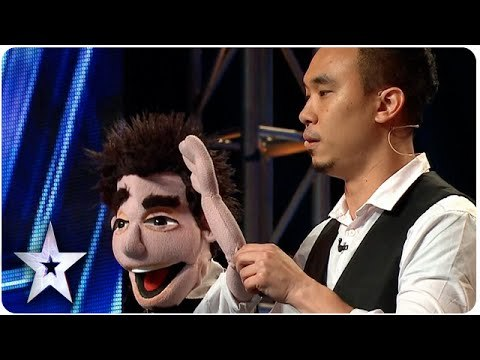 Ventriloquist Shawn Chua Performs Magic For Judges | Asia's Got Talent 2015 Ep 2