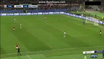 Real Madrid 1st SUPER CHANCE TO SCORE ROMA 0-0 REAL MADRID 17-02-2016