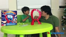 BOOM BOOM BALLOON Family Fun Balloon Pop Challenge Egg Surprise Toys Ryan ToysReview