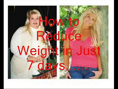 —How to Lose Weight Fast 10 Kg in 5 days, Lose belly fat,Lose weight in 1 week 2016