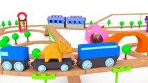 Apprendre les couleurs avec Dino le Dinosaure & Marc le Train   Dessin animé éducatif en français