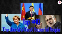 Top 10 The World's Most Powerful People(1)