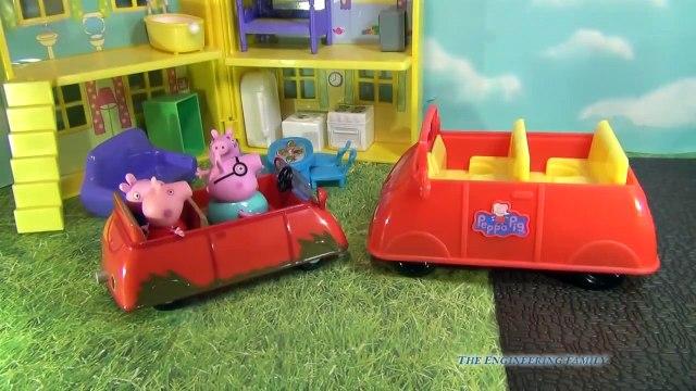 Nickelodeon Peppa Pig Muddy Puddle Car the BBC Peppa Pig Play Car Toy