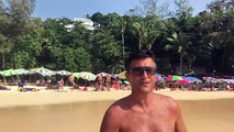 Surin beach Phuket Thailand 2016