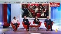 """Unioni civili, Giulia Grillo (M5S) vs Morani (Pd): """"Siete fascisti travestiti da comunisti"""" (720p Full HD)"""
