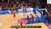Galatasaray MP 68 - 64 CSKA | Son 2 Dakika & Maç Sonu (09.02.2012)