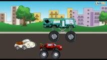 ✔ Мультфильмы для Детей все серии! Монстр Трак на АвтоМойке / Cars Cartoons Compilation for kids ✔