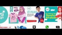 Agen Afrakids Surabaya Toko Baju/Kaos Anak Muslim
