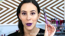 How To - Liquid Lipstick As Eyeliner _ Beauty Tips - Beauty Tips