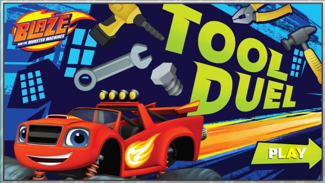 Blaze and the Monster Machines - Tool Duel Animation - Monster Machines game for kids