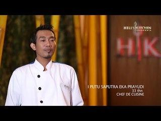 PUTU - Contestant Profile - Hell's Kitchen Indonesia