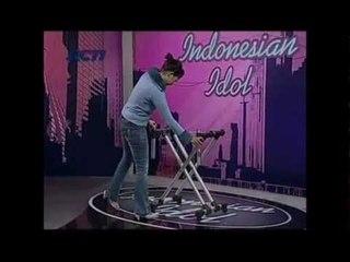 Shandy Eugene - Audisi 4 - INDONESIAN IDOL 2012