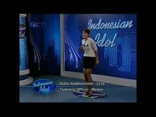 Mas Dhani Sama Mama Aku Aja - Audisi 3 - INDONESIAN IDOL 2012