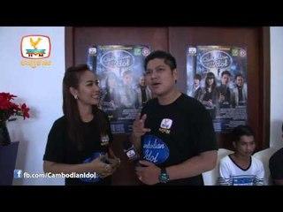 CambodianIdol Talkshow EP 8 Part 2