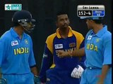 Cricket Fights - Sourav Ganguly v Russell Arnold - India v Sri Lanka final Match