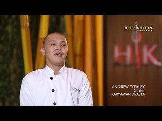 ANDREW - Contestant Profile - Hell's Kitchen Indonesia