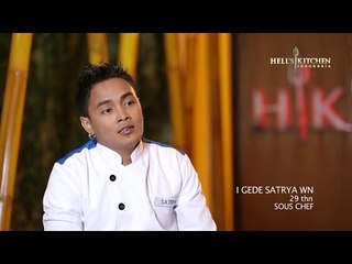 SATRYA - Contestant Profile - Hell's Kitchen Indonesia