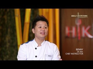 BEN - Contestant Profile - Hell's Kitchen Indonesia