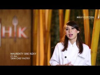 MAURENTY - Contestant Profile - Hell's Kitchen Indonesia