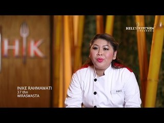INIKE - Contestant Profile - Hell's Kitchen Indonesia
