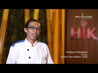 FITRAH - Contestant Profile - Hell's Kitchen Indonesia
