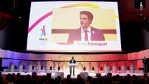 Evenement Paris 2024 - Manifeste de Tony Estanguet