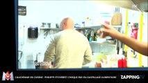 Cauchemar en cuisine : Philippe Etchebest choqué par le gaspillage alimentaire d'un restaurant (Vidéo)