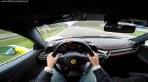 300km/h avec sa Ferrari 458 Italia sur une autoroute allemande