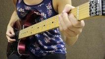 Reprise des Quatre Saisons de Vivaldi à la guitare électrique