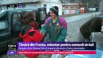 Tânără din Franța, voluntară pentru oamenii străzii din Iași. Impresionată de dramele oamenilor fără adăpost din Iaşi, şi-a amânat înscrierea la masteratul în Geografie şi a venit în capitala Moldovei.