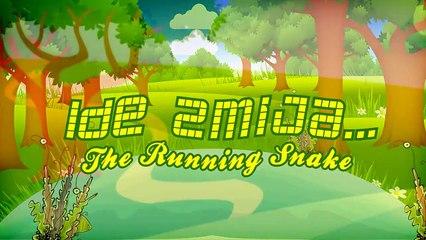 Ide Zmija (Running Snake) (2013) - Funny Cartoon Video for Kids
