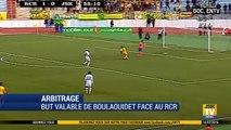 Arbitrage _ But valable refusé à Boulaouidet face au RCR _ Match RCR - JSK