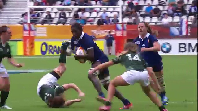 NZ's Woodman Top tries from Women's final Rugby World Cup 2014
