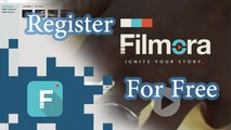 How to Register Wondershare Filmora for Free