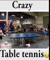 Funny Videos Crazy Table Tennis With Head (Funny Videos 720p)